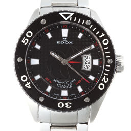 EDOX EDOX Class One Automatic Stainless Steel Mens Watch DH50402 [pre-owned] A rank