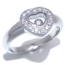 Chopard ショパール ハッピー ダイヤモンド 750ホワイトゴールド×ダイヤモンド 12.5号 レディース リング・指輪 DH50603【中古】ABランク