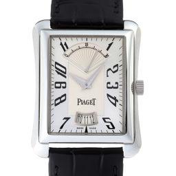 PIAGET ピアジェ エンペラドール レトログラード 50本限定 Pt950プラチナ×レザー メンズ 腕時計 DH50922【中古】ABランク