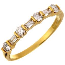 TIFFANY&Co. ティファニー ハーフ サークル ダイヤモンド 750イエローゴールド×ダイヤモンド 9号 レディース リング・指輪 DH50958【中古】Aランク