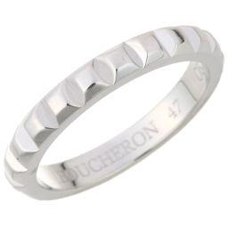 Boucheron ブシュロン クル ド パリ 750ホワイトゴールド 7号 レディース リング・指輪 DH50960【中古】Aランク
