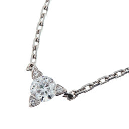MAUBOUSSIN Mauboussin Diamond 750 White Gold x Diamond Ladies Necklace DH51426 [pre-owned] A rank