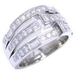 HARRY WINSTON ハリーウィンストン トラフィック バイ HW ダイヤモンド Pt950プラチナ×ダイヤモンド 15.5号 レディース リング・指輪 DH51464【中古】Aランク