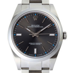 ROLEX ロレックス 114300 オイスターパーパチュアル ステンレススチール メンズ 腕時計 DH51581【中古】Aランク