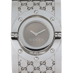 GUCCI Gucci 112 (Outlet) Twirl Watch Stainless Steel Ladies Watch DH52758 [pre-owned] A rank