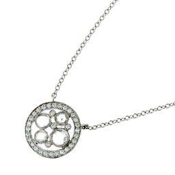 TIFFANY&Co. ティファニー コブルストーン ダイヤモンド Pt950プラチナ×ダイヤモンド レディース ネックレス DH52761【中古】Aランク