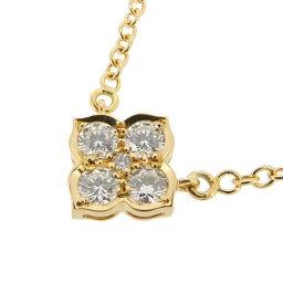 CARTIER カルティエ ヒンドゥ ダイヤモンド 750イエローゴールド×ダイヤモンド レディース ネックレス DH53265【中古】Aランク
