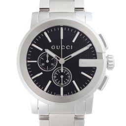 GUCCI グッチ 101.2 Gクロノグラフ ステンレススチール メンズ 腕時計 DH53495【中古】Aランク