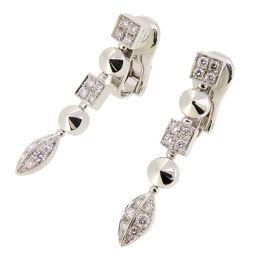BVLGARI ブルガリ ルチア ダイヤモンド 750ホワイトゴールド レディース イヤリング DH53846【中古】Aランク