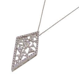 TASAKI タサキ(田崎真珠) 1.17ct ダイヤモンド ブローチ ペンダント 750ホワイトゴールド レディース ネックレス DH54040【中古】Aランク