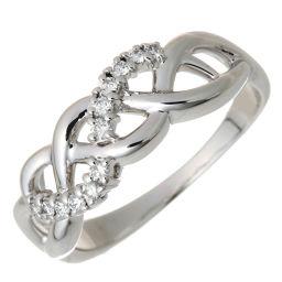 TASAKI タサキ(田崎真珠) 750WG ダイヤモンド 750ホワイトゴールド×ダイヤモンド 13号 レディース リング・指輪 DH54531【中古】Aランク