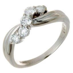 Non Brand ノンブランド Pt900 ダイヤモンド Pt900プラチナ×ダイヤモンド 12号 レディース リング・指輪 DH54538【中古】Aランク