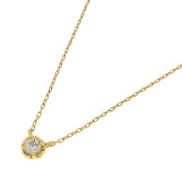 AHKAH Arker AB1107010100 Tier Diamond K18 Yellow Gold × Diamond Ladies Necklace DH54644 [Pre] A rank