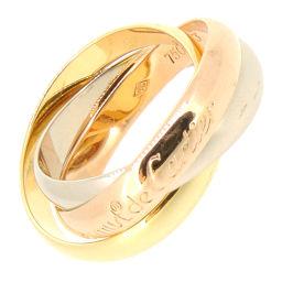 CARTIER カルティエ トリニティ 750ホワイトゴールド×750イエローゴールド×750ピンクゴールド 13号 レディース リング・指輪 DH54653【中古】Aランク