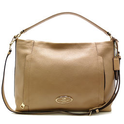 COACH coach 34312 scout hobo shoulder bag with name leather ladies handbag DH54724 [used] AB rank