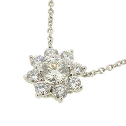 HARRY WINSTON Harry Winston PEDPNA003SF Sunflower by Harry Winston Mini Pendant Pt950 Platinum Ladies Necklace DH54951 [Used] A rank