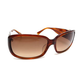 COACH Coach S731A GERRY AMBER HORN Sunglasses Plastic Ladies Men's Sunglasses DH55234 [Used] A rank