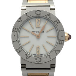 BVLGARI Bvlgari BB26SPG Bvlgari Bvlgari Stainless Steel x Pink Gold Ladies Watch DH55256 [Used] A Rank
