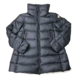 MONCLER Moncler ELEVEE GIUBBOTTO Eleve coat # 3 nylon × down 90% feather 10% ladies down jacket DH55670 [pre-owned] A rank