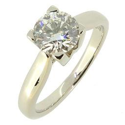 HARRY WINSTON ハリーウィンストン HW ロゴ 0.72ct ダイヤモンド Pt950プラチナ 8号 レディース リング・指輪 DH55697【中古】Aランク