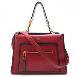 FENDI Fendi 8BH344 Runaway Small RUNAWAY 2WAY Bag Calf × Leather Ladies Handbag DH56183 [Used]