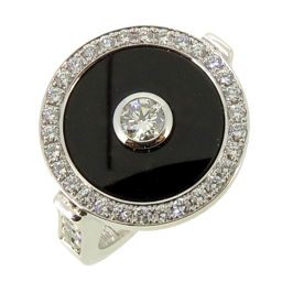 PIAGET Piaget Limelight Party # 52 750 White Gold No. 12 Ladies Ring / Ring DH56194 [Used] A rank
