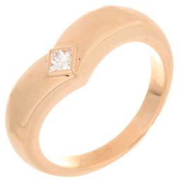 CARTIER カルティエ B4009100 トリアンドル 1P ダイヤモンド #51 750ピンクゴールド 11号 レディース リング・指輪 DH56246【中古】Aランク