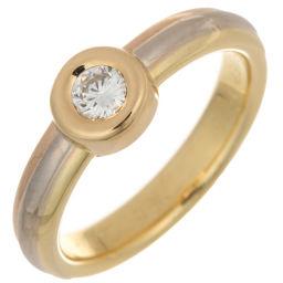 CARTIER カルティエ モノストーン 1P ダイヤモンド #48 750イエローゴールド×750ピンクゴールド×750ホワイトゴールド 8号 レディース リング・指輪 DH56248【中古】Aランク