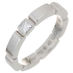 CARTIER カルティエ B4080200 マイヨン パンテール 1P ダイヤモンド #45 750ホワイトゴールド 5号 レディース リング・指輪 DH56249【中古】Aランク