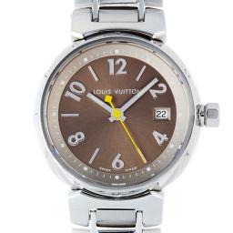 LOUIS VUITTON ルイ・ヴィトン Q1212 タンブール PM  ステンレススチール レディース 腕時計 DH56303【中古】Aランク