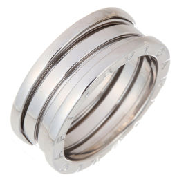 BVLGARI Bvlgari Be Zero One 3 Band # 59 750 White Gold No. 18.5 Ladies' Men's Rings & Rings DH56325 [Used] A Rank