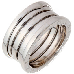 BVLGARI Bvlgari Be Zero One 4 Band # 54 750 White Gold No. 14 Ladies' Men's Ring / Ring DH56326 [Used] A Rank