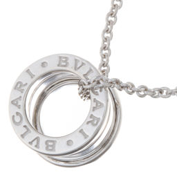 BVLGARI BVLGARI Be Zero One 750 White Gold Ladies Necklace DH56328 [Used] A Rank