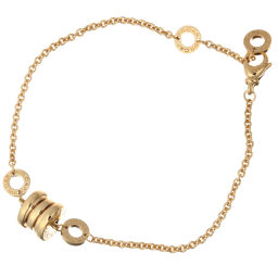 BVLGARI Bvlgari Be Zero One 750 Yellow Gold Ladies Bracelet DH56329 [Used] A Rank
