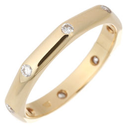 BVLGARI Bulgari Octagon Diamond 750 Yellow Gold 10.5 Ladies Ring / Ring DH56333 [Used] A Rank