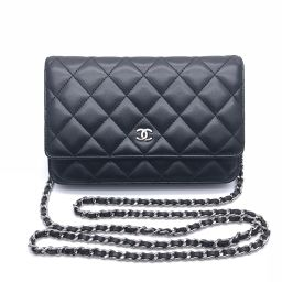 CHANEL Chanel Matrasse Chain Wallet Leather Ladies Long Wallet DH56407 [Used] A rank