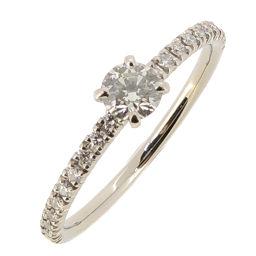 CARTIER Cartier Etansel de Diamond # 49 Pt950 Platinum 9 Ladies Ring / Ring DH56449 [Used] A rank