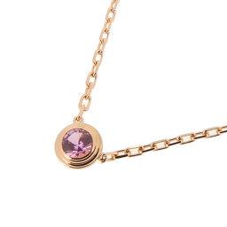 CARTIER Cartier Saphir Leger de 750 Pink Gold Ladies Necklace DH56450 [Used] A rank