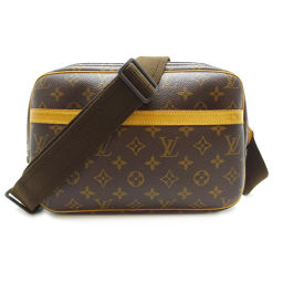 LOUIS VUITTON Louis Vuitton M45254 (Discontinued) Reporter PM Monogram Canvas Women's Men's Shoulder Bag DH56537 [Used] AB Rank