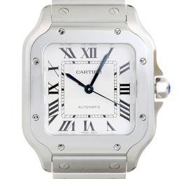 CARTIER カルティエ WSSA0010 サントス ドゥ カルティエ MM ステンレススチール レディース・メンズ 腕時計 DH56549【中古】Aランク