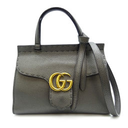 "GUCCI Gucci 463390 GG Marmont 2WAY bag * Named ""ML"" leather ladies handbag DH56573 [Used] A rank"