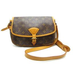 LOUIS VUITTON Louis Vuitton M42250 (Discontinued) Sologne Monogram Canvas Ladies Shoulder Bag DH56610 [Used]