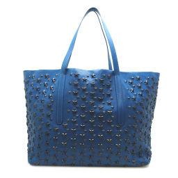 JIMMY CHOO Jimmy Choo Pimlico Star Studs Tote Bag Leather Ladies Men's Tote Bag DH56612 [Used]