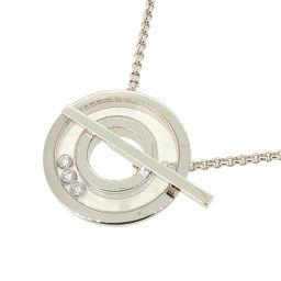 Chopard ショパール ハッピー ダイヤモンド 750ホワイトゴールド レディース ネックレス DH56912【中古】Aランク