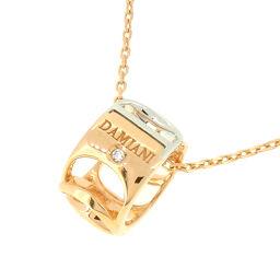 Damiani ダミアーニ 20027253 ダミアニッシマ 1P ダイヤモンド 750ピンクゴールド×750ホワイトゴールド レディース ネックレス DH56970【中古】Aランク