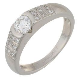 Chaumet ショーメ フィデリテ ダイヤモンド Pt950プラチナ 9号 レディース リング・指輪 DH57142【中古】Aランク