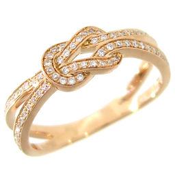 FRED フレッド シャンス アンフィニ スモールモデル ダイヤモンド 750ピンクゴールド 9号 レディース リング・指輪 DH57148【中古】Aランク