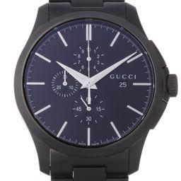 GUCCI グッチ YA126274 (126.2) Gタイムレス クロノグラフ ステンレススチール メンズ 腕時計 DH57342【中古】Aランク
