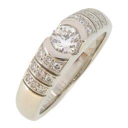 Chaumet ショーメ フィデリテ ダイヤモンド Pt950プラチナ 9号 レディース リング・指輪 DH57546【中古】Aランク