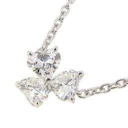 CARTIER カルティエ ラブ サポート ダイヤモンド 750ホワイトゴールド レディース ネックレス DH57898【中古】Aランク